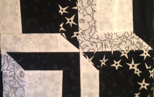 Quilting (and life) with Black and White